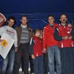 La premiazione dell'Atletica Agordina