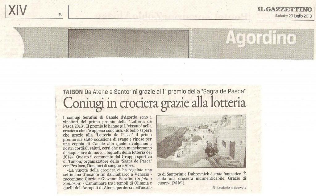 Crociera - Il Gazzettino